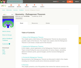 Geometry - Pythagoreom Theorem (Student's Edition)