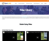 OpenSciEd Video Library
