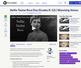 Nellie Tayloe Ross Day (Grades K-12)