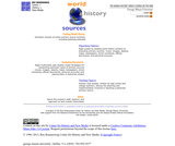 World History Survey Course on the Web
