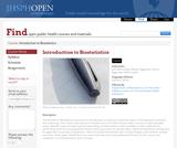 Introduction to Biostatistics