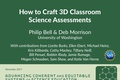 ACESSE Resource D - How to Craft 3D Classroom Science Assessments