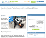 Putting Robots to Work with Force & Friction