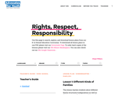 Rights, Respect, Responsibility A K-12 Sexuality Education Curriculum