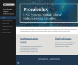 UNC System Pre-Calculus Digital Course