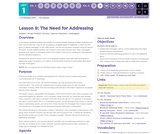 CS Principles 2019-2020 1.9: The Need for Addressing