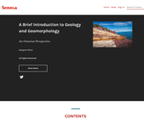 A Brief Introduction to Geology and Geomorphology