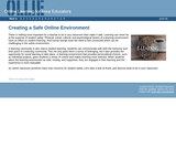 Creating a Safe Online Learning Environment