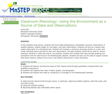 Classroom Phenology: Using the Environment as a Source of Data and Observations