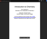 CH 104: Introduction to Chemistry