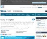 Caring in Hospitals