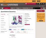 Quantitative Genomics, Fall 2005