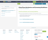 ClimeTime Attribution and Licensing Guidelines