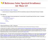 Standard Solar Spectra: Air Mass 1.5