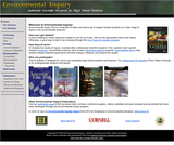 Environmental Inquiry: Authentic Scientific Research for High School Students
