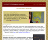 Hundred Board Activities 1