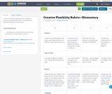 Creative Flexibility Rubric—Elementary