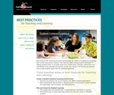 Best Practices for Teaching and Learning