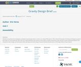 Gravity Design Brief