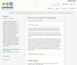Permissions Guide For Educators