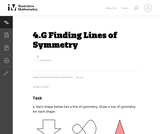 4.G Finding Lines of Symmetry
