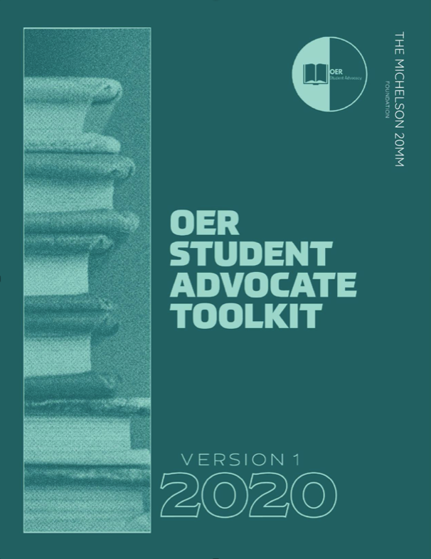 OER Student Advocate Toolkit