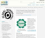 Global Nomads Group: Project Based Learning: Environmental Innovation Project Guide