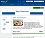 Grade 1 Module 3: Ordering and Comparing Length Measurements as Numbers