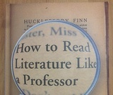 How to Read Literature Like a Professor - Chapter Presentations