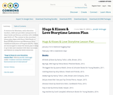 Hugs & Kisses & Love Storytime Lesson Plan