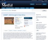 ASMET: 2009 Drought in East Africa