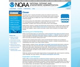 National Ocean and Atmospheric Administration: Oceans in the spotlight