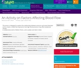 An Activity on Factors Affecting Blood Flow