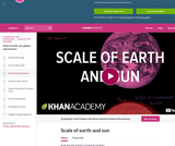 Cosmology and Astronomy: Scale of Earth and  Sun