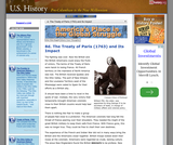 8d. The Treaty of Paris (1763) and Its Impact