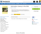 Information Literacy in the Wild