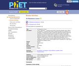 PhET Teacher Activities: Air Resistance Lesson