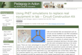 Using PhET Simulations to Replace Real Equipment in Lab Circuit Construction Kit