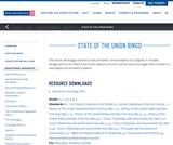 State of the Union Bingo 2012