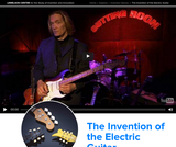 The Invention of the Electric Guitar
