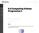 Computing Volume Progression 1