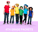 4th Grade Social Distancing Learning Packet