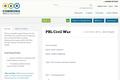 PBL Civil War