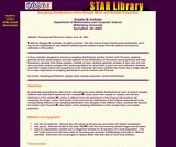 Star Library: Sampling Distributions of the Sample Mean and Sample Proportion