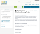 Environmental Solutions Inquiry Project