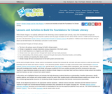 Lessons and Activities to Build the Foundations for Climate Literacy