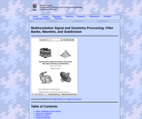 Multiresolution Signal and Geometry Processing: Filter Banks, Wavelets, and Subdivision (Textbook, Solutions Manual, and Lecture Slides)