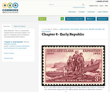 Chapter 8 - Early Republic