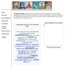 Realia Project (Rich Electronic Archive for Language Instruction Anywhere)