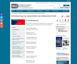 Preventing Drug Use among Children and Adolescents: A Research-Based Guide for Parents, Educators, and Community Leaders